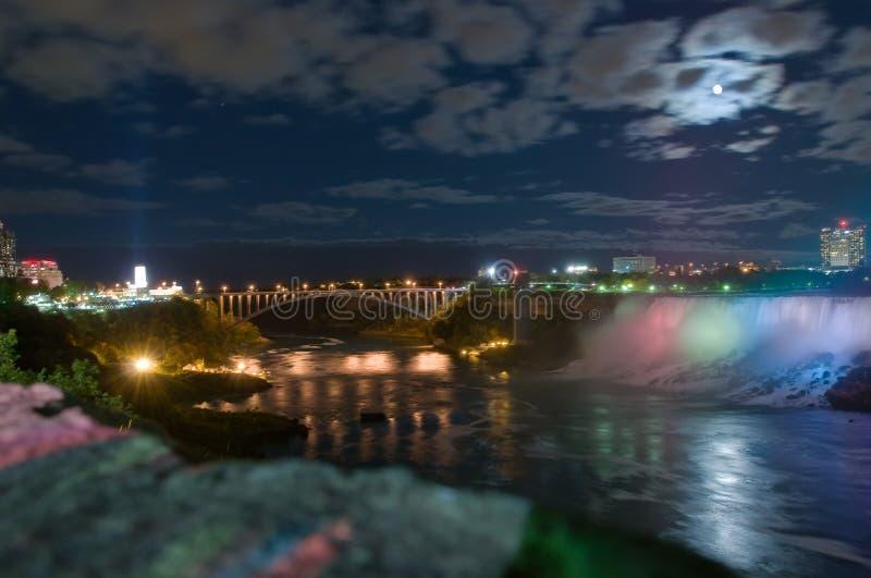 Luar no rio de Niagara imagens de stock