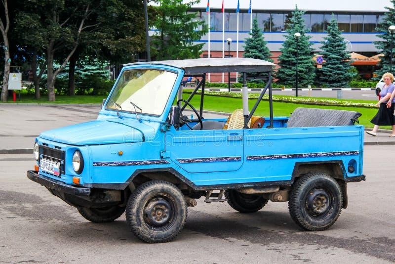 LuAZ Volyn 1302 imagen de archivo libre de regalías