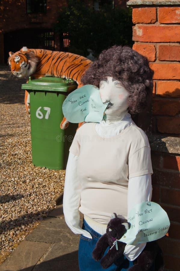 Lubenham Scarecrow Weekend stock photo