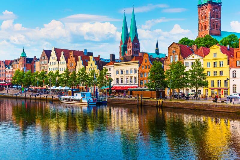 Lubeque, Alemanha fotografia de stock royalty free