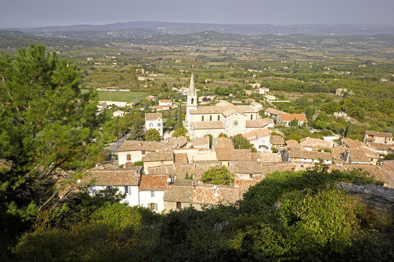 Download Luberon: city of Bonnieux stock photo. Image of city - 11521170