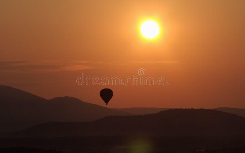 Luberon Sunrise 3 royalty free stock photos