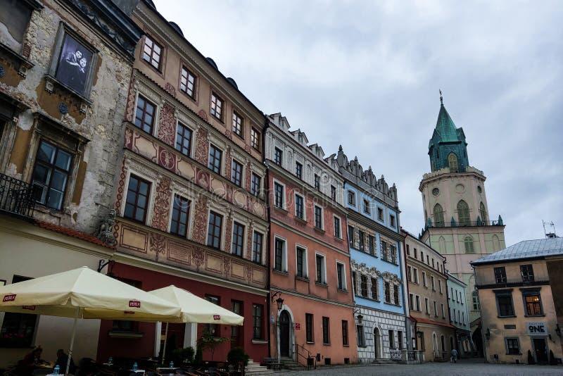 Lublin, Πολωνία - 14 Μαΐου 2019: Παλαιά πόλη του Lublin στοκ φωτογραφίες με δικαίωμα ελεύθερης χρήσης