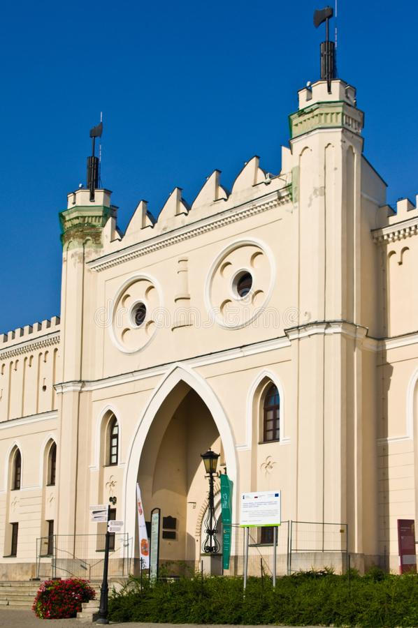Lublin, Πολωνία: Μουσείο του Castle Lubelski στοκ εικόνα με δικαίωμα ελεύθερης χρήσης