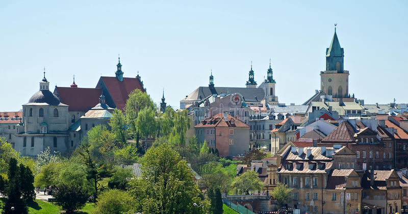 Download Lublin stock photo. Image of poland, tourism, city, sightseeing - 24623866