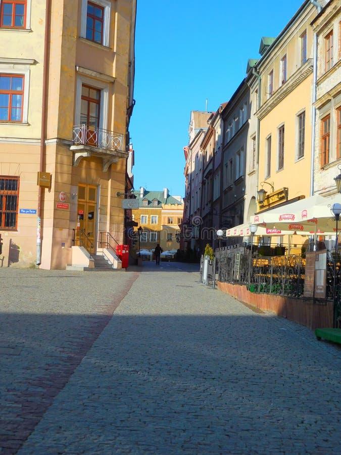 Lublin royaltyfri foto