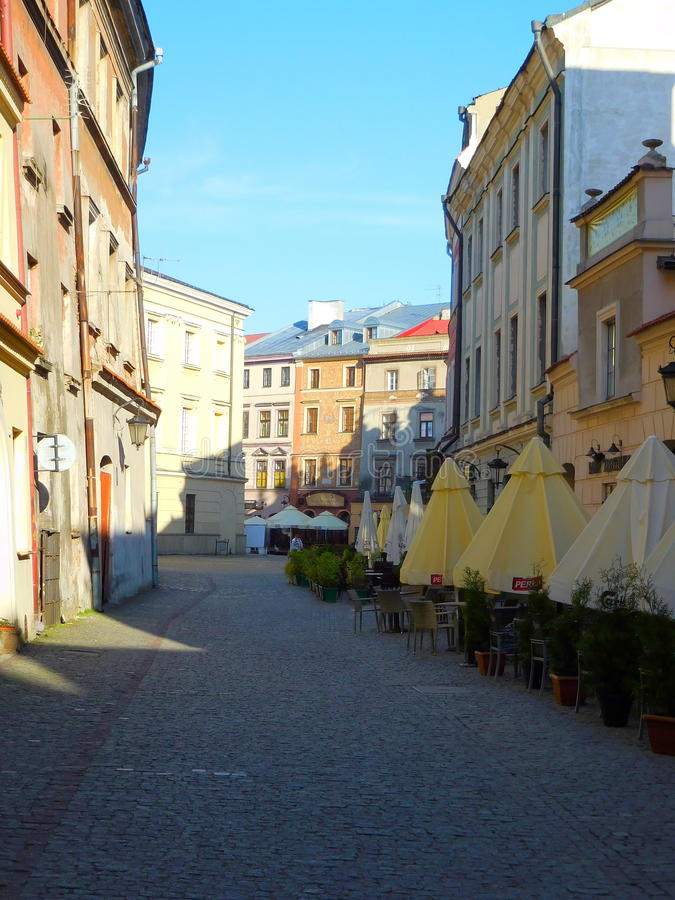 Lublin royaltyfri bild