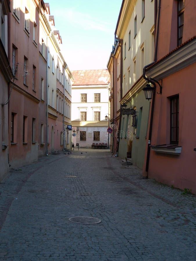 Lublin arkivbild