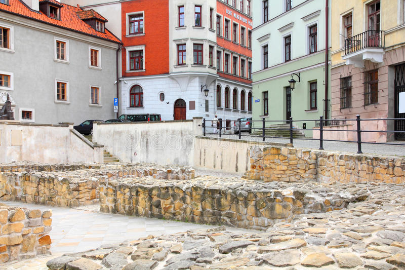 Lublin, Poland. Lublin, city in Poland. Old town view stock photo