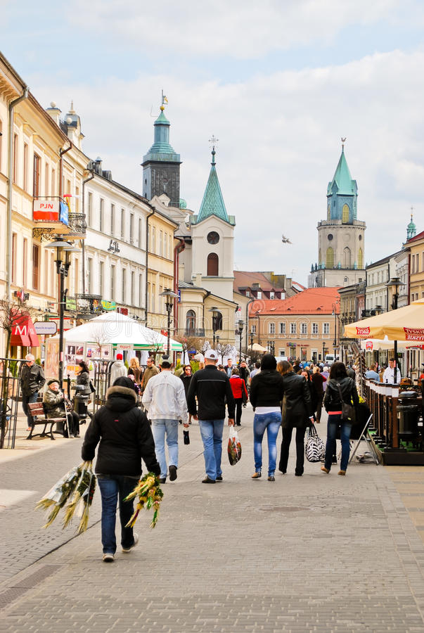 Download Lublin, Poland editorial stock image. Image of medieval - 23518344