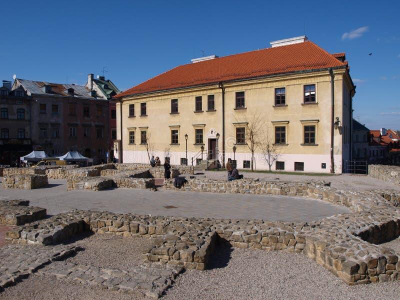 Lublin Polen fotografering för bildbyråer