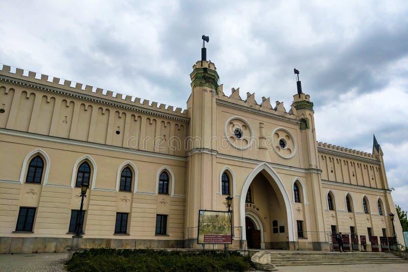Lublin, Polen - 14. Mai 2019: Lublin-Schloss - ein ehemaliges königliches Schloss und eine Verstärkung errichtet im 12. Jahrhunde stockbilder