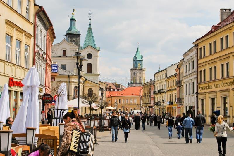 Lublin, Polonia foto de archivo libre de regalías
