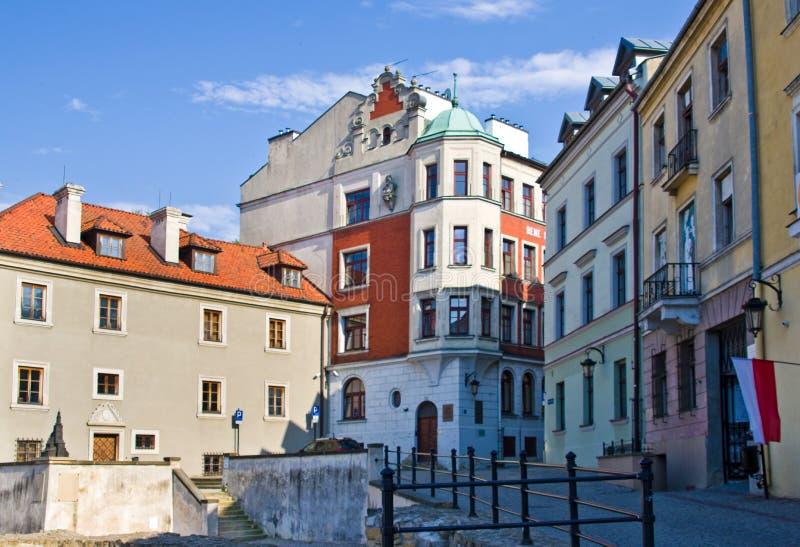 Lublin, Polonia: Cuadrado anterior de Fara fotografía de archivo