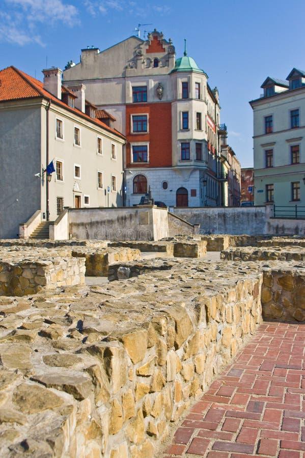 Lublin, Polonia: Cuadrado anterior de Fara fotos de archivo libres de regalías