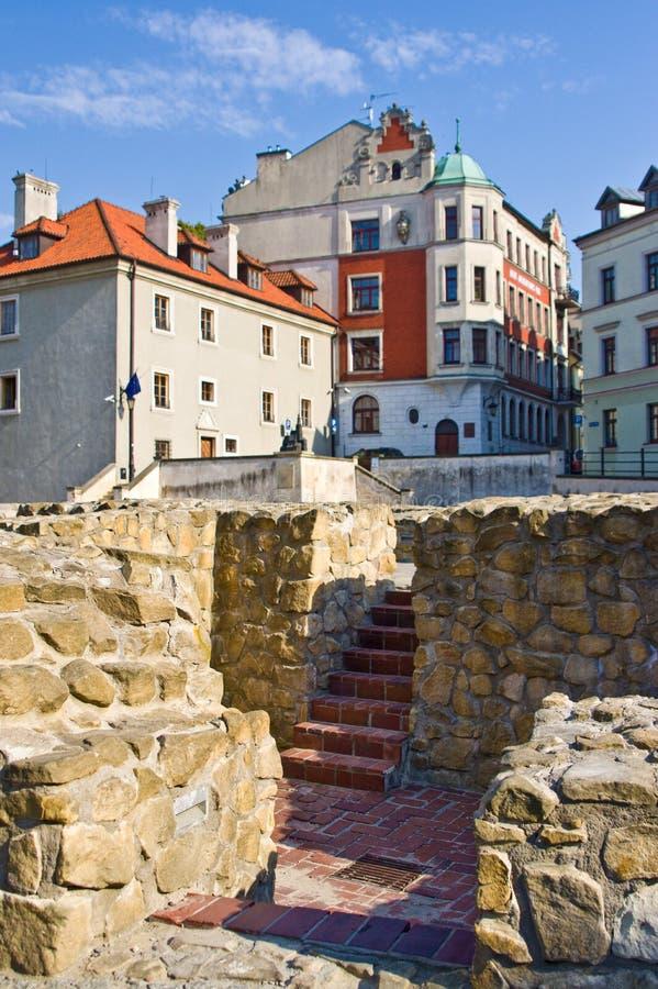 Lublin, Polonia: Cuadrado anterior de Fara fotos de archivo