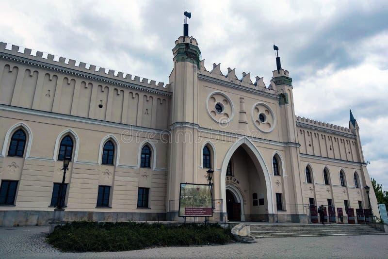 Lublin, Polonia - 14 de mayo de 2019: Castillo de Lublin - un castillo real anterior y un fortalecimiento construidos en el siglo fotografía de archivo libre de regalías