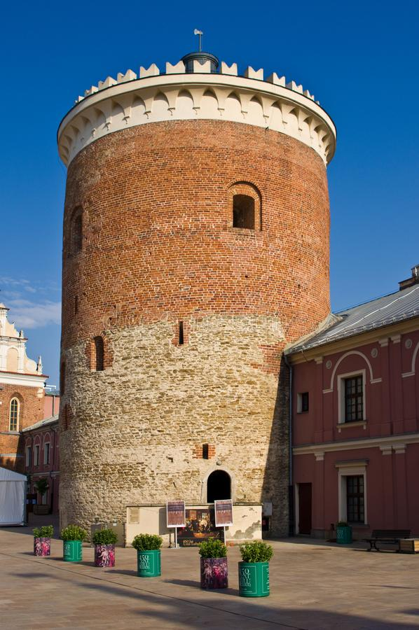Lublin, Polska: Lubelski kasztelu muzeum fotografia royalty free
