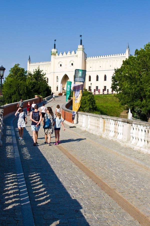 Lublin, Polska: Lubelski kasztelu muzeum obrazy stock
