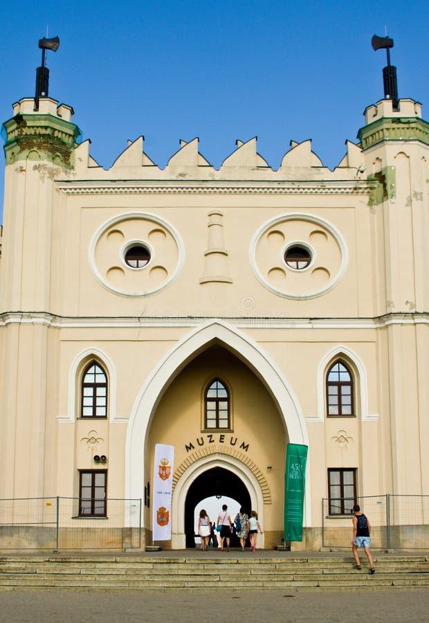 Lublin, Polska: Lubelski kasztelu muzeum zdjęcie royalty free