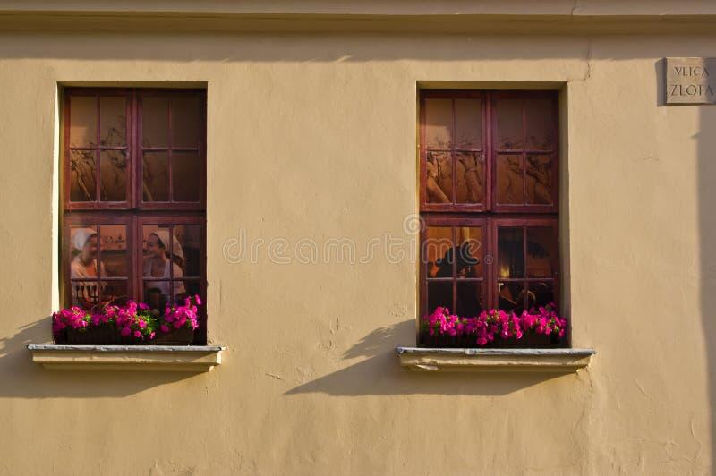 Lublin, Polska, Stara Grodzka centrum miasta Unesco dziedzictwa architektura obraz royalty free