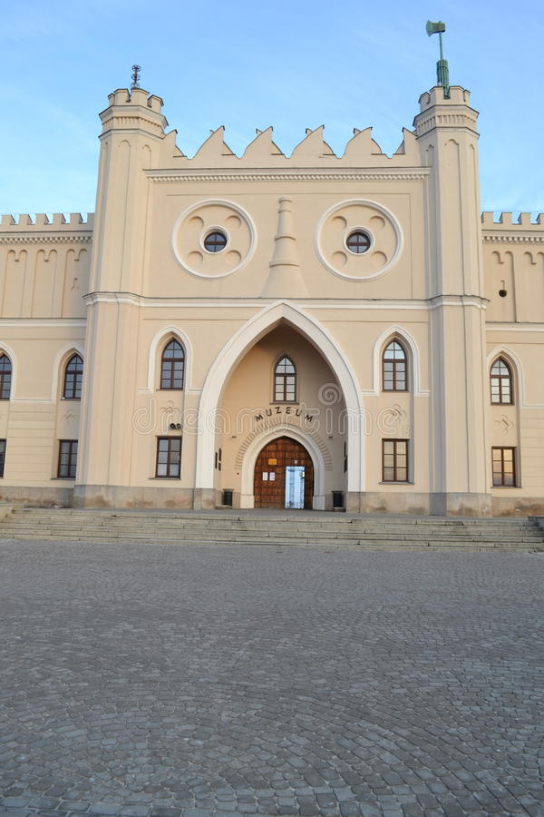 Lublin slott royaltyfria foton