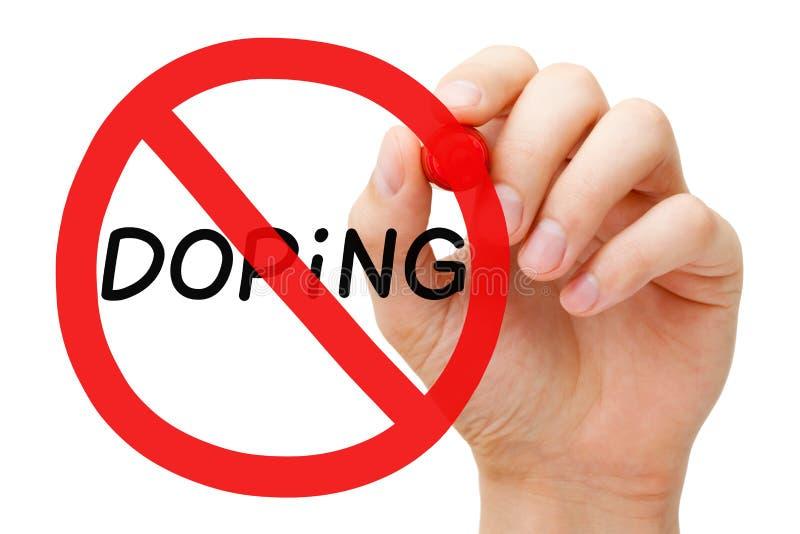 Lubrificando o conceito do sinal da proibição fotos de stock royalty free