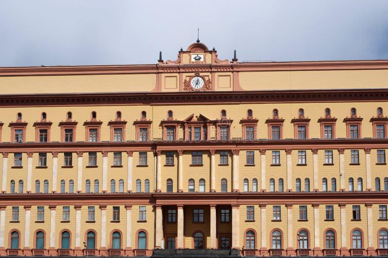 Lubyanka kvadrerar, Moskva, den ryska federala staden, rysk federation, Ryssland royaltyfria bilder