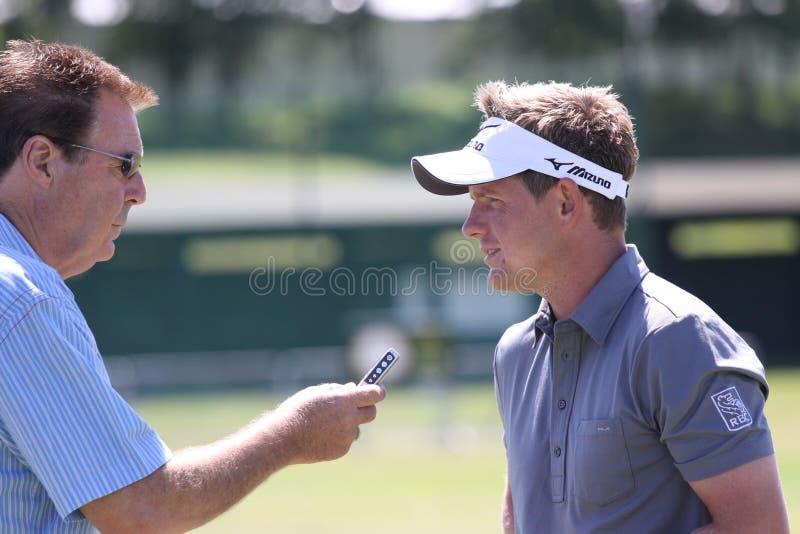 Luc Donald au Français de golf ouvrent 2010 image stock