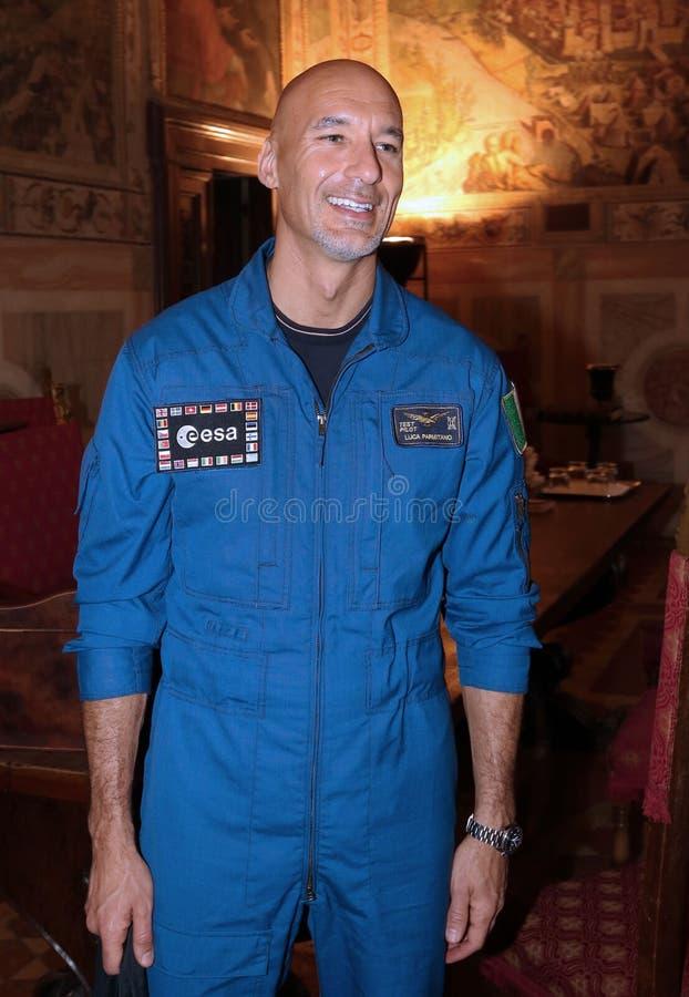 Luca Salvo Parmitano, Florença fotografia de stock royalty free