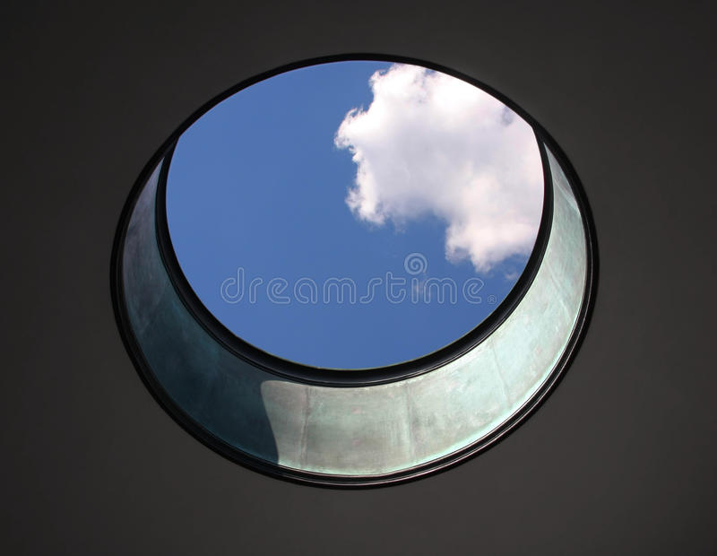 Lucarne circulaire images stock