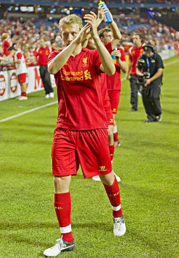 Download Lucas Leiva editorial stock image. Image of rodgers, midfielder - 25853089