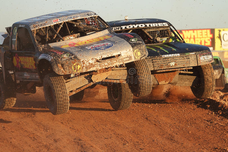 Lucas Oil Off Road Series (LOORS) Challenge Cup 2012 royalty free stock photography
