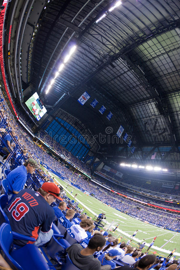 Download Lucas Oil stadium editorial image. Image of people, american - 15935910