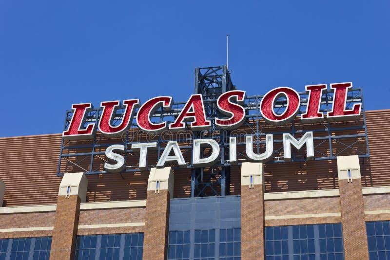 Lucas Oil Stadium mim imagens de stock