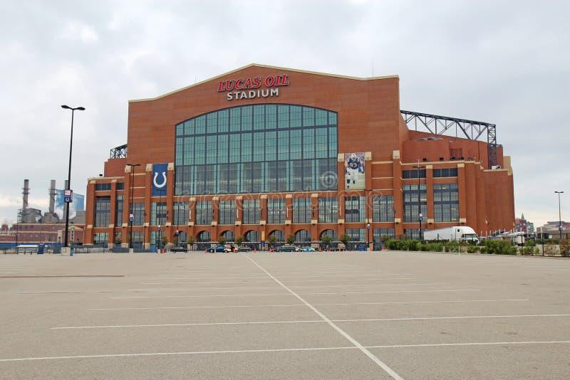Lucas-Schmieröl-Stadion in Indianapolis, Indiana lizenzfreie stockfotos