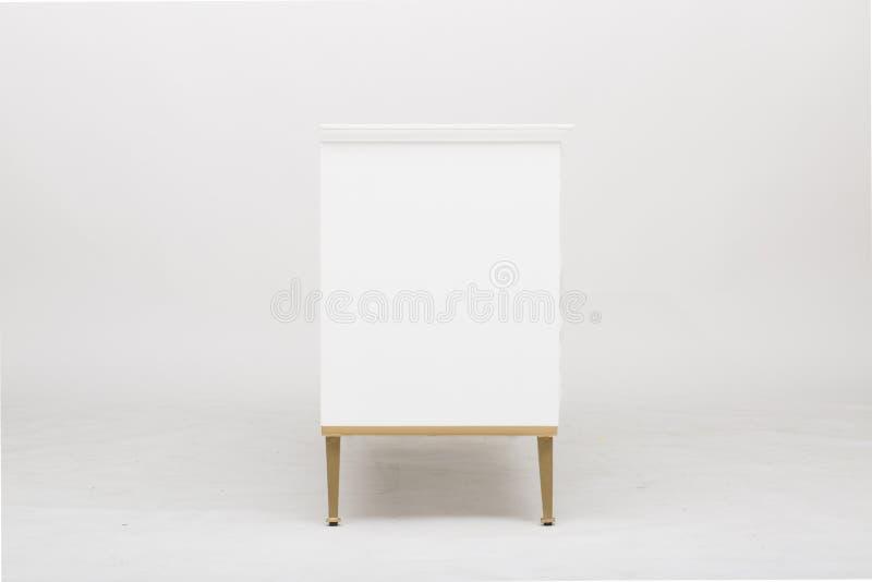 Lucas Sideboard   Rove Concepts, unit? bianca di spettacolo di 6 cassetti TV, apprettatrice del cassetto di Mateer 6 con l'immagi immagine stock
