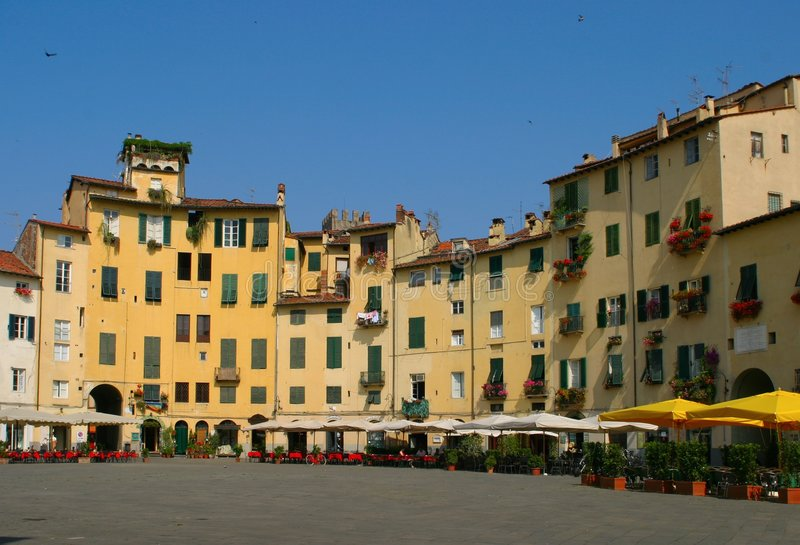 Download Lucca stock photo. Image of ancient, village, theater - 1438282