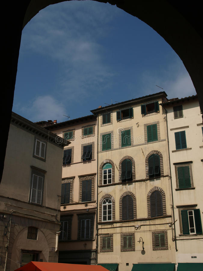 Download Lucca stock image. Image of shutters, rest, green, estates - 18831137
