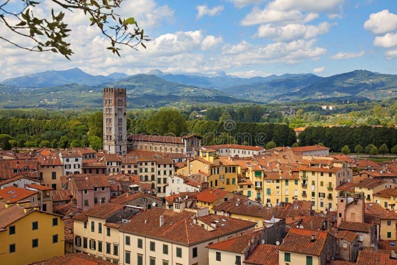 Lucca royaltyfria foton