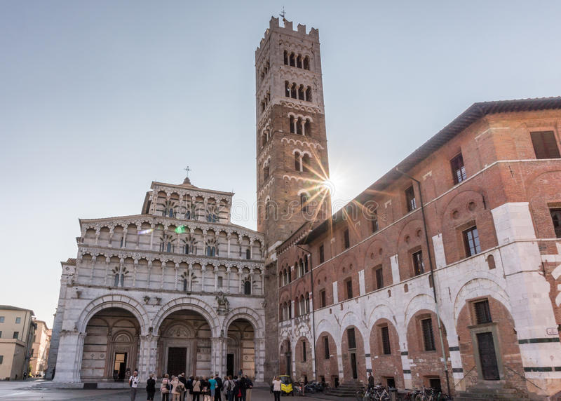 Download Lucca Cathedral Editorial Stock Image - Image: 83712859