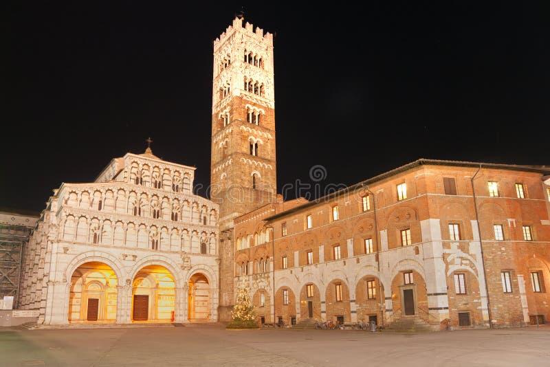 Lucca, cattedrale della st Martin. fotografia stock