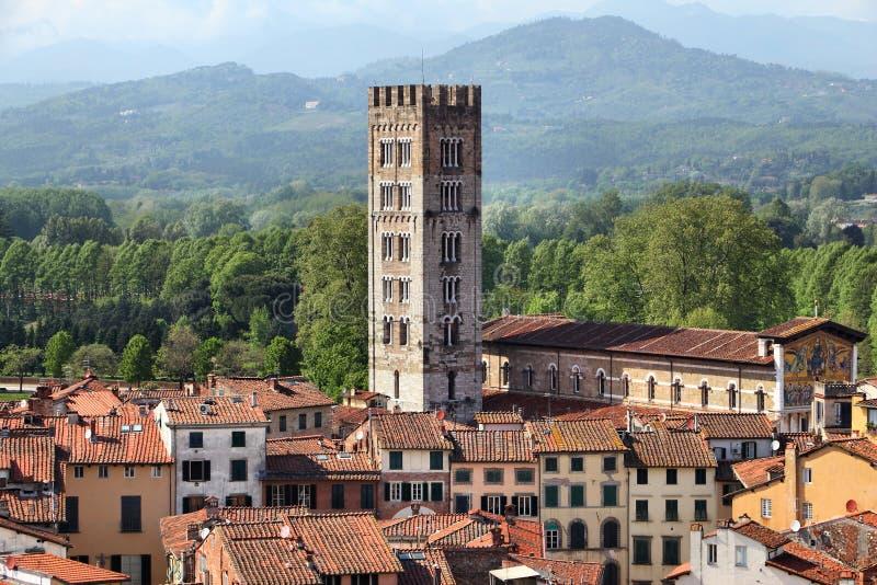 Lucca, Italia fotografia stock libera da diritti