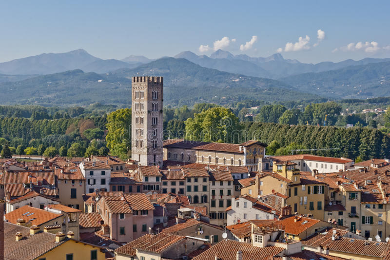 Lucca, Italie photo stock