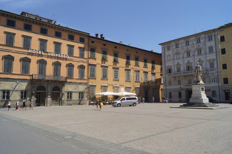 Lucca mittstad arkivbild