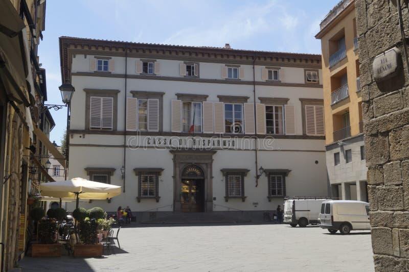 Lucca mittstad arkivfoton