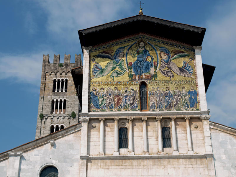 Lucca - San Frediano Church Stock Images