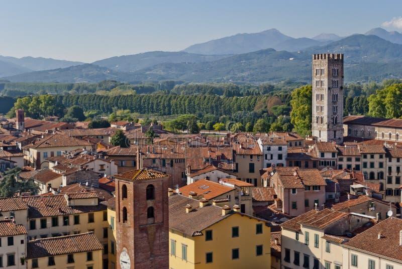 Lucca, Toscana, Italia fotografia stock libera da diritti