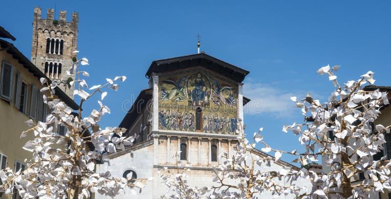 Lucca (Toscana, Italia) fotografia stock libera da diritti