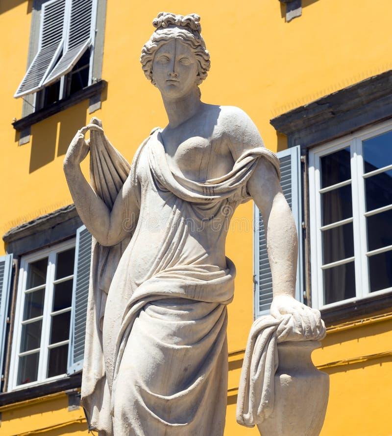 Lucca (Toscana, Italia) fotografia stock